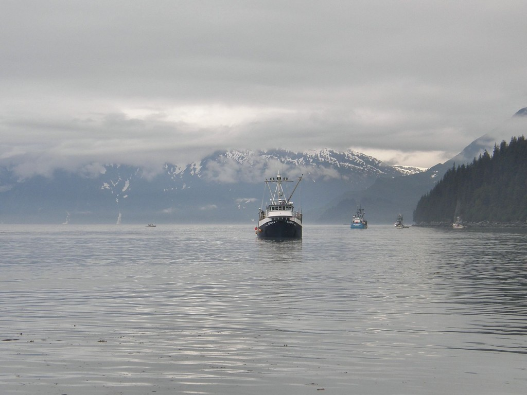 Leaving Valdez Harbor