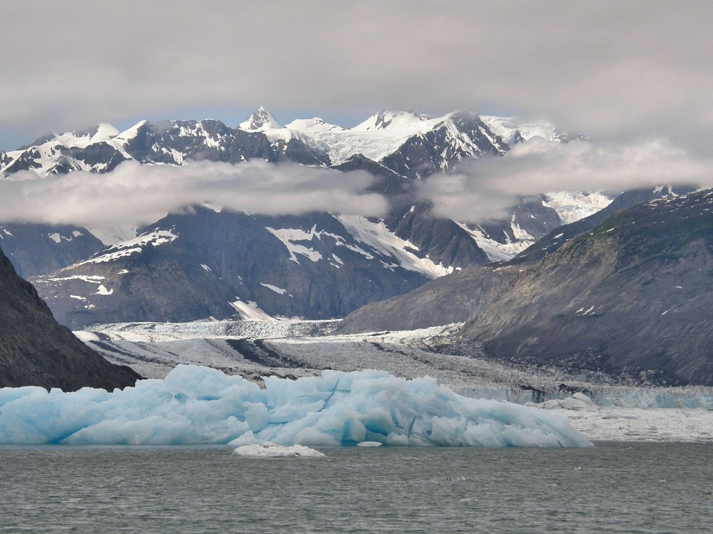 Approaching the Glacier